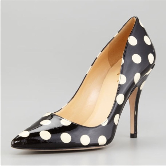 8d4f0f5f66ee kate spade Shoes - Kate Spade polka dots pumps